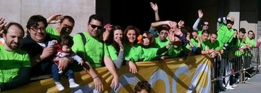 Voluntarios de Amigos Íntimos con el Deporte